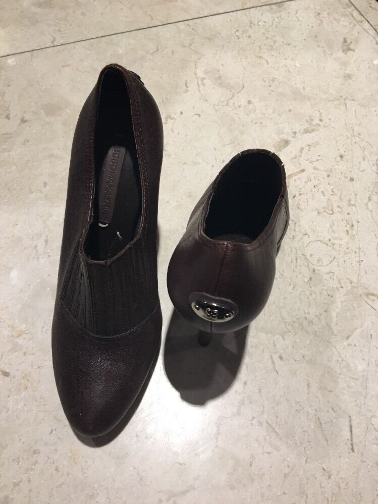 BCBG Booties - Dark Brown - Barely Worn