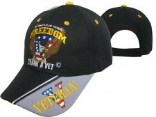 f257a870 item 1 Thank a Vet Veteran for your Freedom Patriotic USA V Baseball Cap Hat  (Licensed) -Thank a Vet Veteran for your Freedom Patriotic USA V Baseball  Cap ...