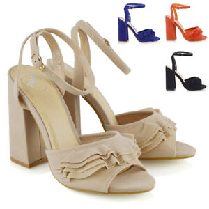 Womens-High-Heel-Ankle-Strap-Sandals-Ladies-Peep-Toe-Party-Prom-Shoes-Size-3-8