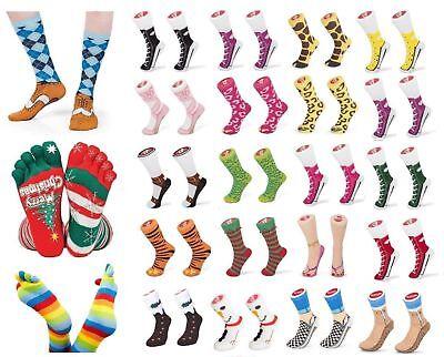 Calzini Silly Socks Divertenti Scherzo Articolo Sandali Chuks Clogg Broque-mostra Il Titolo Originale