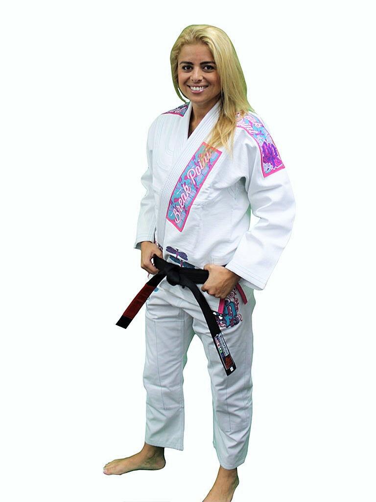 Break Point Womens  Dragonfly BJJ Jiu Jitsu Gi - White  clearance