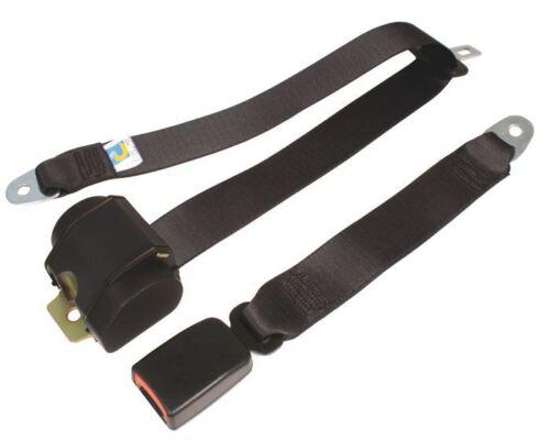 Tipo 2 Bay Cintura Fibbia Posteriore moderno inerzia tutte le cinghie Nero