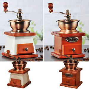 Kaffeemühlen Espressomühle Alte Kaffemühle Keramikmahlwerk Kaffeebohnen Kaffee