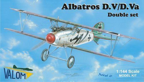 Valom 1//144 Modell Bausatz 14406 Albatros D.V VA Doppel Kombo 2 X Sets D