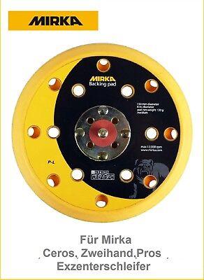 Mirka plateaux Support Velcro 150 mm pour CEROS manuelle et ros exzeenterschleifer