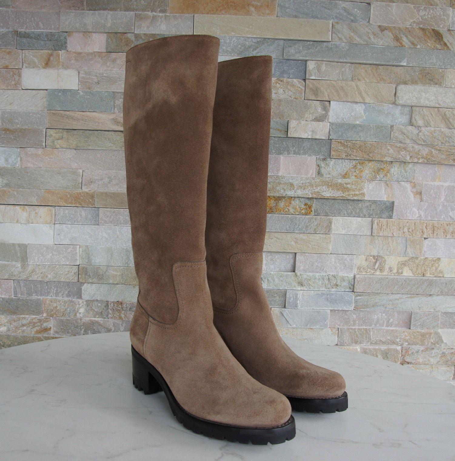 SANTONI Gr Gr Gr 36 Damen Stiefel 52539  Stiefel Schuhe monk braun NEU ehem.   e40865