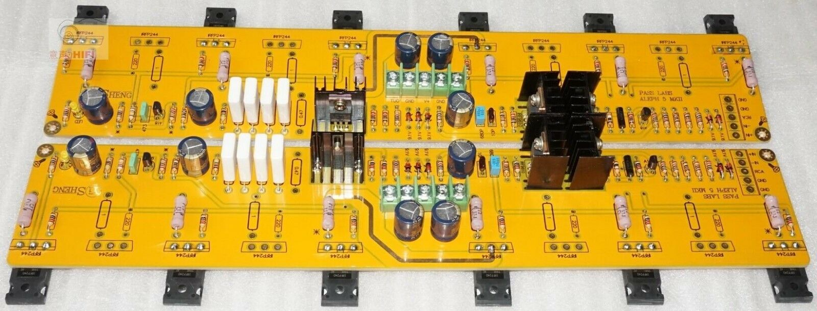 Pass A5 Class A Amplifier Board With Balanced And Unbalanced Input Labs Aleph2 Diy Kkpcb Layout Ebay