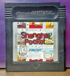 Shanghai-Pocket-Game-Boy-Color-GB-Rare-TESTED-GBA-Advance-GBC-Nintendo