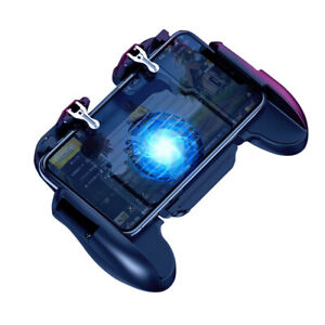 Mobile Phone Game Controller Joystick Cooling Fan Gamepad for Mobile Game PUBG O