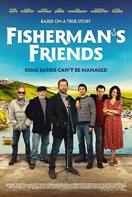 FISHERMAN/'S FRIENDS POSTER A4 A3 A2 A1 CINEMA MOVIE LARGE FORMAT