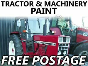 Tractor Paint International Red 474 574 584 684 784 884