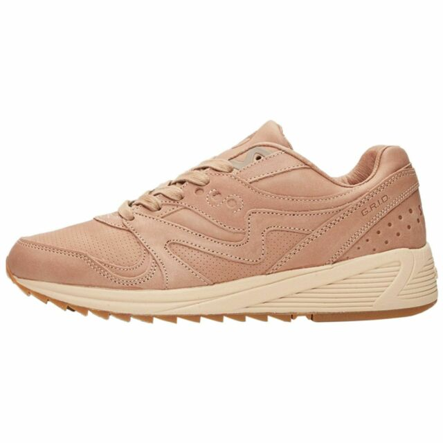tan athletic shoes