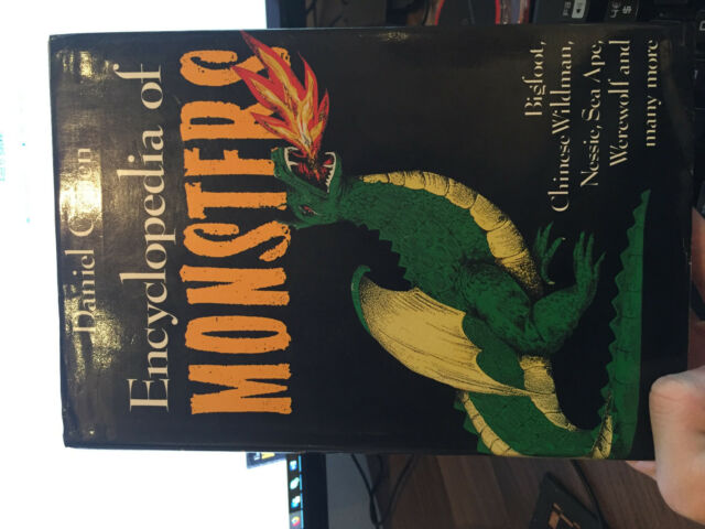 THE ENCYCLOPEDIA OF MONSTERS., Cohen, Daniel., Used; Very Good Book