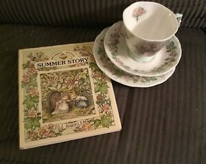 Royal-Doulton-Brambly-Hedge-1983-tea-cup-saucer-plate-book