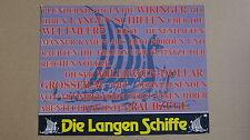 (T390) Aushangfoto (Texttafel) DIE LANGEN SCHIFFE/ The Long Ships