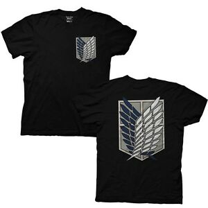 8cfd3518 Details about Attack on Titan Survey Corps T-Shirt