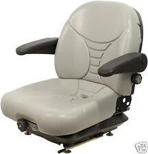 GRAY SUSPENSION SEAT,MILSCO V5300, HUSTLER,EXMARK,TORO, DIXIE CHOPPER,ZTR #OH
