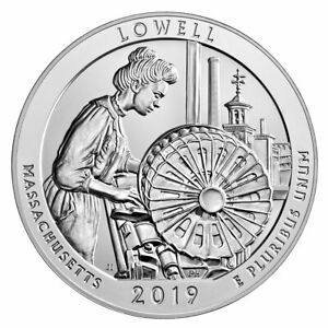 2019-Lowell-5-oz-Silver-ATB-America-the-Beautiful-Coin-GEM-BU-SKU57024