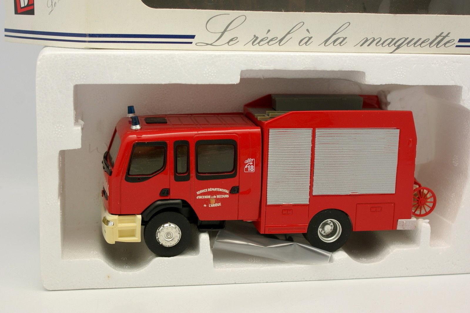 Eligor LBS 1 43 - Renault Premium Double Cabine SDIS Pompiers Ariège