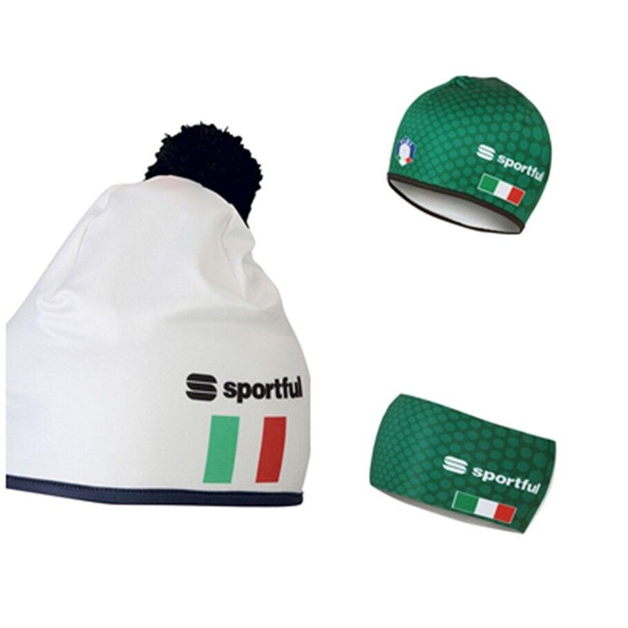 2018-2020 SPORTFUL SQUADRA RACE HEADBAND ITALIA CAPPELLO COLLO SCI DI FONDO