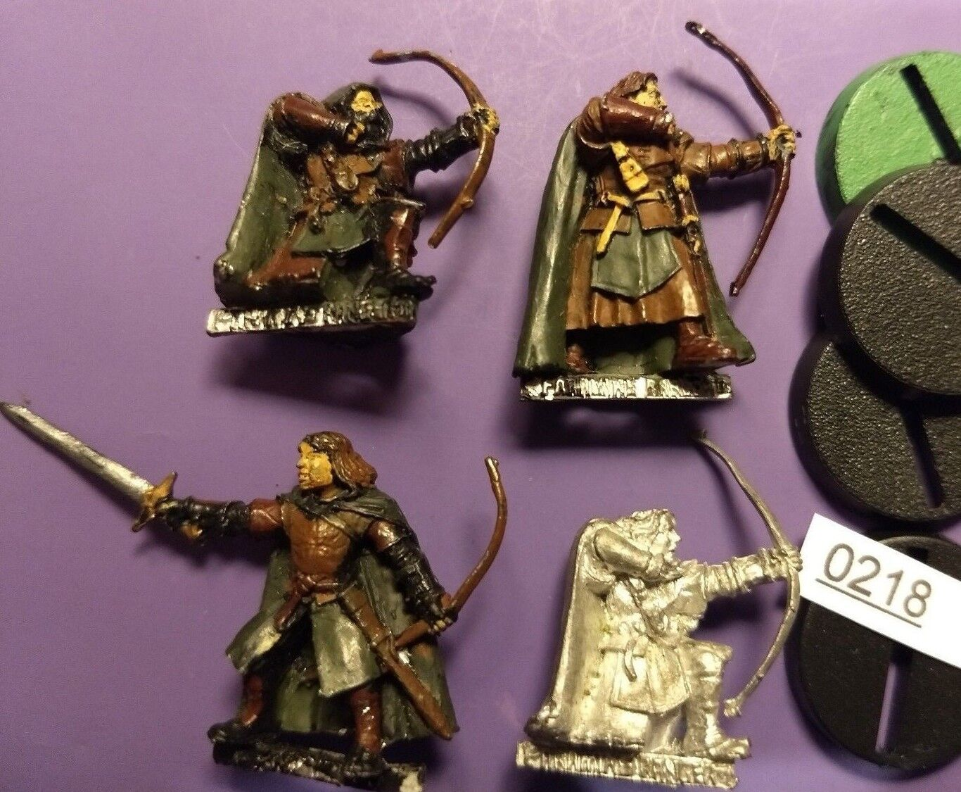 Groupe de faramirs Rangers-Lords of the Rings Warhammer-Rangers of ithilien