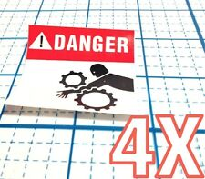 Decals Stickers Danger Do Not Sit On The Speakers Vehicle st5 X3664