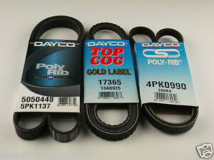 Mitsubishi pajero fan belt kit suits 35l v6 nl 6g74 models 81997 1 image is loading mitsubishi pajero fan belt kit suits 3 5l publicscrutiny Gallery