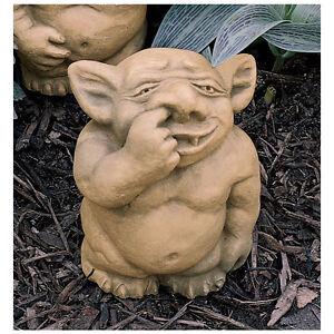 Gentil Image Is Loading Large Gothic Troll Like Gargoyle Nasty Nose Picker