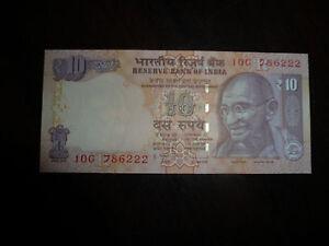 Billet De 10 Rupees De India état Neuf Qzktaltp-07224915-893377378