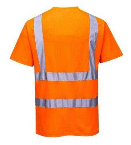 Portwest S170 Breathable Comfort Short Sleeve Safety T-Shirt  EN ISO 20471