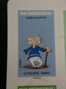 Bien Informé France, 2019 Tp Autoadhesifs, Asterix, Agecanonix Neuf**, Comics, Mnh Stamp Facile Et Simple à Manipuler