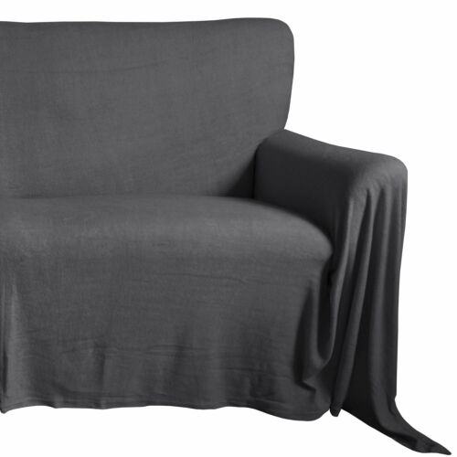 Sofaüberwurf Frottee Couchüberwurf Sesselschoner Sesselüberwurf Tagesdecke