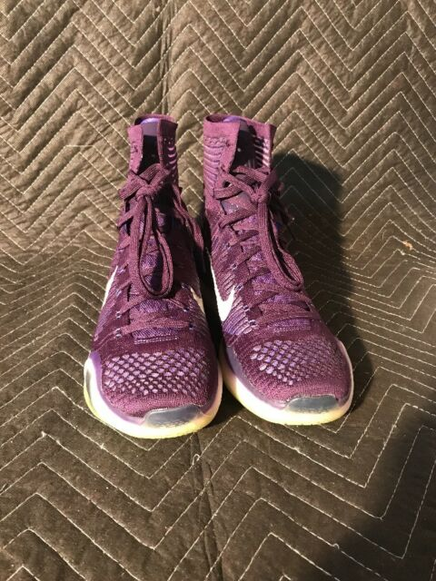11e4a7321e1d Frequently bought together. Nike Kobe X 10 Elite High 718763-505 Purple ...