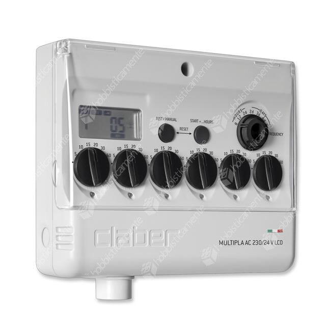 Programmierer Elektronische Steuereinheit Claber 8058 Multipla AC 230/24 LCD