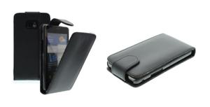 Funda-Carcasa-Cuero-Eco-Negro-Samsung-GT-S8500-Ola