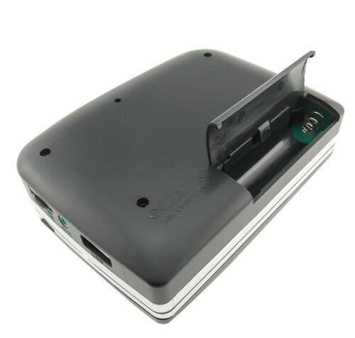 Cassette-to-MP3 Converter Tape to USB Flash Drive Audio Capture Player Walkman