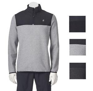 New FILA SPORT Men/'s Laser 1//4-Zip Fleece Pullover Size XXL MSRP $45