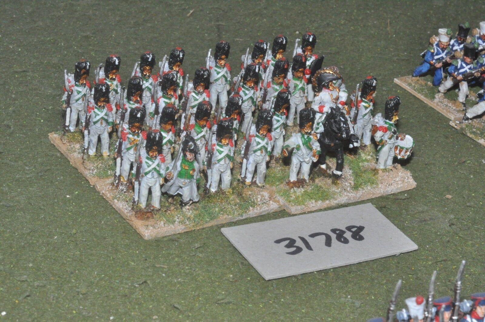 25mm napoleónicas francés-Guard 29 figuras-INF (31788)