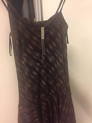 2 delt pinklyserød kontrast kjole | Www.FabuLotus.dk