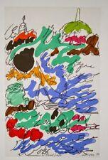 """""""Hommage à Dufy""""  lithographie signée Charles LAPICQUE"""