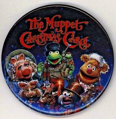 "1992 The Muppet Christmas Carol 3"" Pinback Button   eBay"