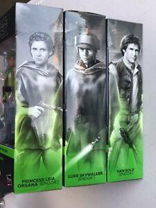 Star-Wars-Black-Series-6-inch-Leia-Luke-Han-Endor-Lot-of-3-Pack-ROTJ-CASE-FRESH