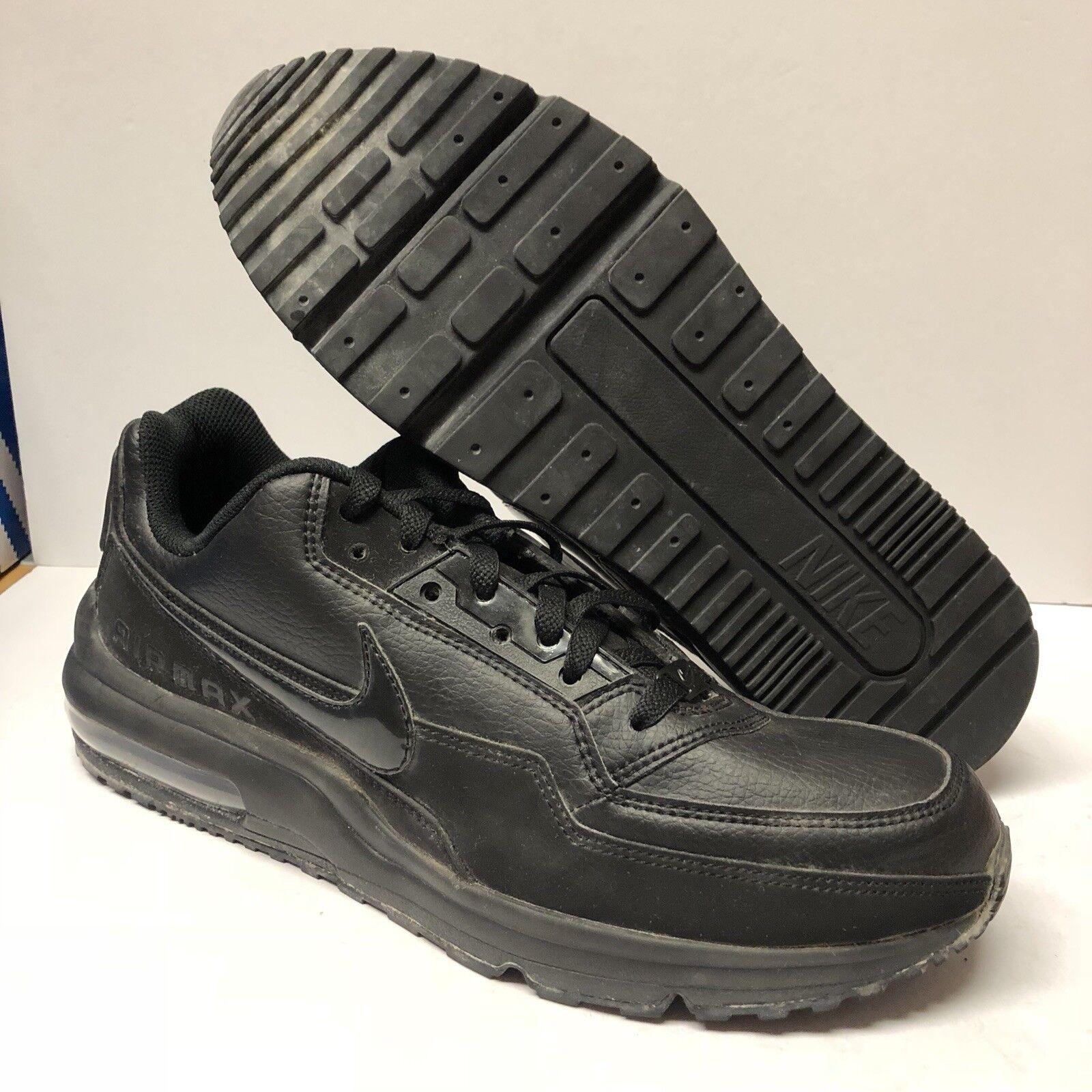 Nike Air Max LTD 3 Running shoes Black Black Size 10.5 Unisex No Box