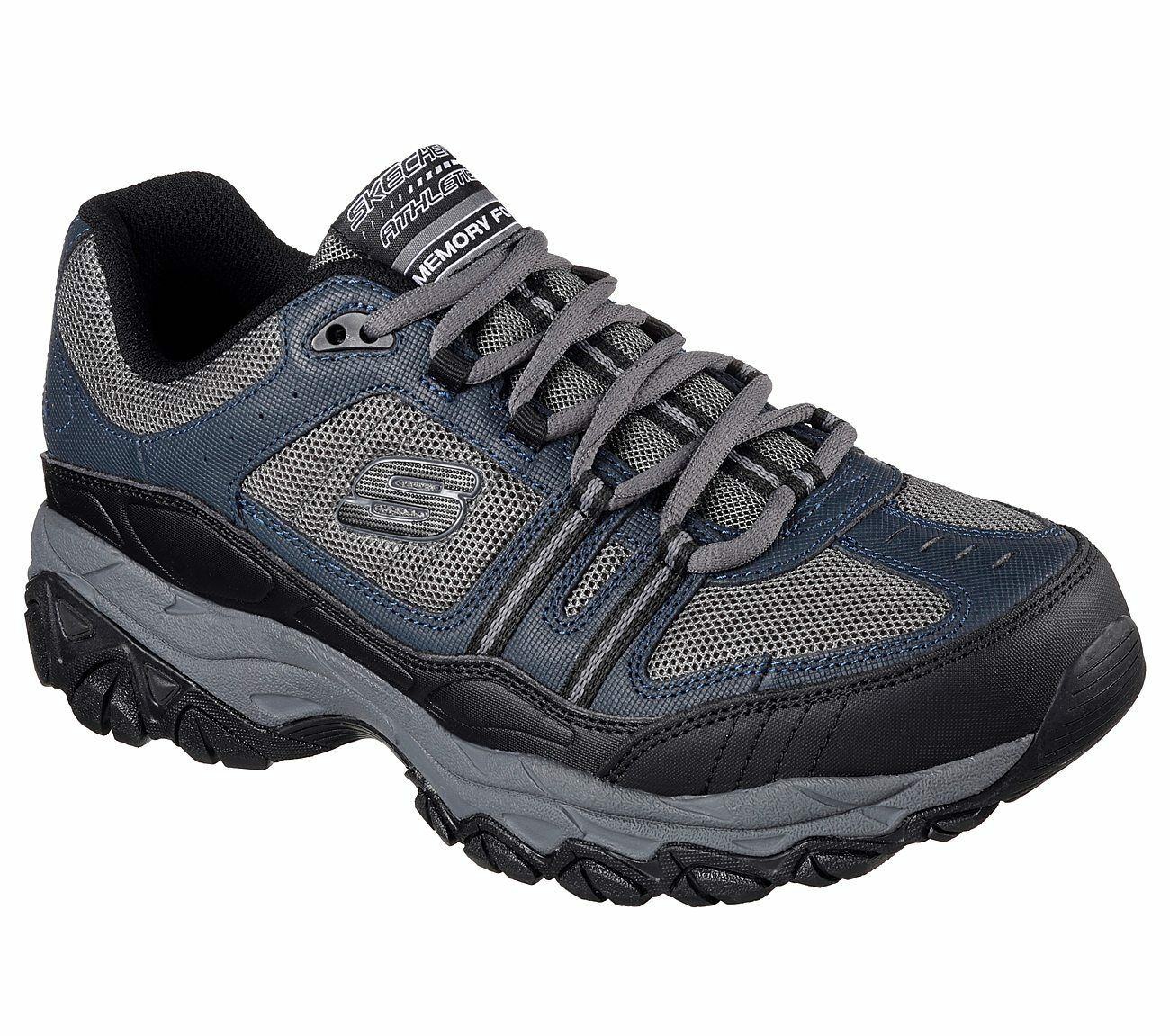 50124 Navy EWW 4E Wide Width Skechers shoes Men New Memory Foam Sport Train Fit Comfortable and good-looking