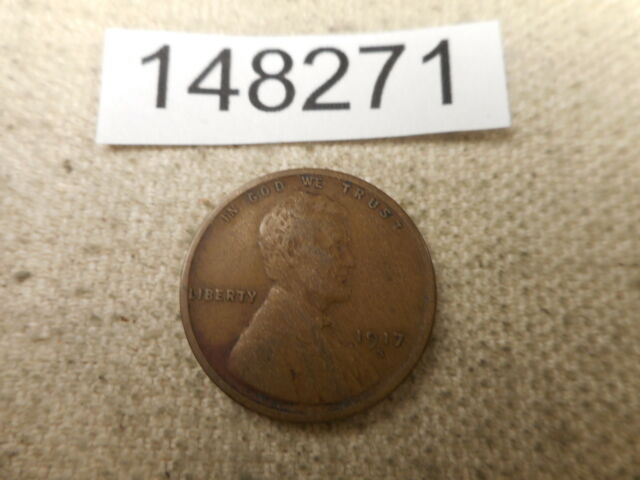 FREE AND PROMPT SHIPPING 1917 LINCOLN WHEAT CENT