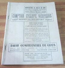 Catalogo 1950-52 Biciclette e ricambi - ciclismo / Eroica / illustrato