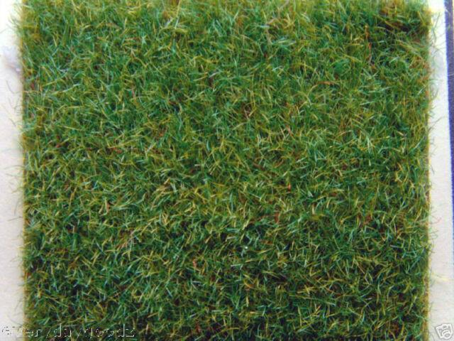 2 pcs of Scale Model Train Layout Grass Mat 0.5x0.5m Ygreen HO N
