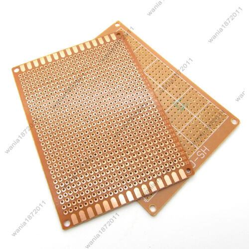 5×Prototype PCB Board Universal Bread Board 7*9cm 800 Point Sigle Side Copper