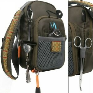 Lake-Pond-Anglers-Angling-Fly-Fishing-Bag-Chest-Pack-Backpack-With-Tackle-Tools