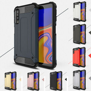 low priced 00556 b9fc1 Details about For Samsung Galaxy A7 2018 J6+ Shockproof Hybrid Hard Case  Rugged Bumper Cover
